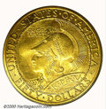 Commemorative Gold: , 1915-S $50 ROUND