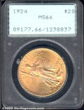 Saint-Gaudens Double Eagles: , 1924 $20
