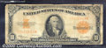 Large Size Gold Certificates:Large Size, 1922 $10 Gold Certificate, Fr-1173, G-VG. This gold note has go...