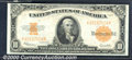 Large Size Gold Certificates:Large Size, 1922 $10 Gold Certificate, Fr-1173, XF-AU. Great eye appeal on ...