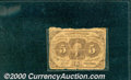 Fractional Currency: , 1862-1863 5c First Issue, Jefferson, Fr-1230, AG. A well worn n...