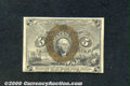 Fractional Currency: , 1863-1867 5c Second Issue, Washington, Fr-1232, AU. A very brig...