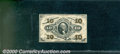 Fractional Currency: , 1874-1876 10c Fifth Issue, Meredith, Fr-1266, XF-AU. The margin...
