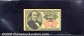 Fractional Currency: , 1874-1876 25c Fifth Issue, Walker, Fr-1308, VF. A lightly circu...