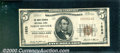 National Bank Notes:Maine, North Berwick National Bank, ME, Charter #1523. 1929 $5 Type On...