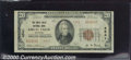 National Bank Notes:Montana, Great Falls National Bank, MT, Charter #4541. 1929 $20 Type Two...