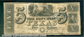 Miscellaneous:Republic of Texas Notes, $5, The Republic of Texas, 1/20/1840, A-4, VG. Great vignettes ...