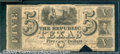 Miscellaneous:Republic of Texas Notes, $5, The Republic of Texas, 5/22/1839, A-4, VG-Fine. This is a w...