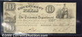 Miscellaneous:Republic of Texas Notes, $10, The Government of Texas, Houston, 12/10/1838, H-17, Fine. ...