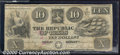 Miscellaneous:Republic of Texas Notes, $10, The Republic of Texas, 1/25/1840, A-5, VF. This is an attr...