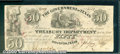 Miscellaneous:Republic of Texas Notes, $50, The Government of Texas, Houston, 1/28/1839, H-21, VF-XF. ...