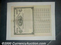 Stocks, Bonds And Checks: , Columbus & Maysville Railway, Southern Division, $1,000 Bond,1...