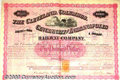 Stocks, Bonds And Checks: , Cleveland, Columbus, Cincinnati, and Indianapolis Railway Compa...