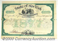 Stocks, Bonds And Checks: , Civil War, Bounties for Volunteers, New York Bond, $6,000, Gree...