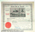Stocks, Bonds And Checks: , Christy Oil Co., Ltd., Calgary, Alberta, Canada, Black-Red, 191...