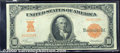 Large Size Gold Certificates:Large Size, 1907 $10 Gold Certificate, Fr-1167, XF. A bright and beautiful ...