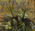 Texas:Early Texas Art - Impressionists, CATHERINE MCKINLEY SMITH (1908-1990). Untitled Floral. Oil onmasonite. 10in. x 11 1/2in.. Unsigned, accompanied by a letter...
