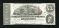Confederate Notes:1863 Issues, T58 $20 1863. Cr. 428 PF-29 A diagonal fold is all the wear thisAugust 1863 stamped piece has sustained. Choice About Unc...