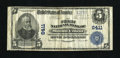 National Bank Notes:Pennsylvania, Mount Union, PA - $5 1902 Plain Back Fr. 598 The First NB Ch. #6411. With only six large notes available this will make...