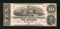 Confederate Notes:1862 Issues, T52 $10 1862. Cr. 373 PF-9 A light center fold is noticed on thisbright CSA $10....