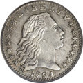 Early Half Dimes: , 1794 H10C XF40 PCGS. V-2, LM-2, R.5. On the obverse, digit 1 of thedate is under the right center of curl 1 equidistant b...