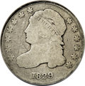 "Bust Dimes: , 1829 10C Curl Base 2--Scratched--NCS. Good Details. JR-10, R.6.John Reich Collectors Society authors (1984) call this ""An ..."