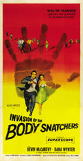 "Movie Posters:Science Fiction, Invasion of the Body Snatchers (Allied Artists, 1956). Three Sheet(41"" X 81"")...."
