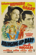 "Movie Posters:Comedy, Bringing Up Baby (RKO, 1938). One Sheet (27"" X 41"")...."