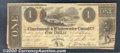 Obsoletes By State:Ohio, $1, The Cincinnati & Whitewater Canal Co., 12/4/1840, Fine-VF....