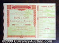 Stocks, Bonds And Checks: , World's Fair, France, Exposition Coloniale Internationale, Pari...