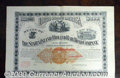 Stocks, Bonds And Checks: , Staten Island Midland Railroad Co., Bond, 1890, Dark Gray, with...