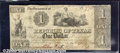 Miscellaneous:Republic of Texas Notes, $1, The Republic of Texas, Austin, A-1, 4/1/1841, VG. The vigne...