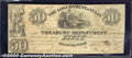 Miscellaneous:Republic of Texas Notes, $50, The Government of Texas, Houston, 4/1/1838, H-21, Fine. A ...