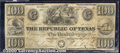 Miscellaneous:Republic of Texas Notes, $100, The Republic of Texas, 9/4/1839, A-8, VF. An evenly circu...