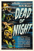 "Movie Posters:Horror, Dead of Night (Universal, 1946). One Sheet (27"" X 41"")...."