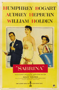 "Movie Posters:Romance, Sabrina (Paramount, 1954). One Sheet (27"" X 41"")...."