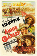 "Movie Posters:Western, Annie Oakley (RKO, 1935). One Sheet (27"" X 41"")...."