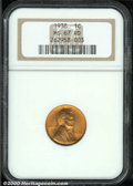 Lincoln Cents: , 1938 1C, RD