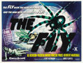 "Movie Posters:Horror, The Fly (20th Century Fox, 1958). British Quad (30"" X 40"")...."