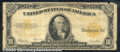 Large Size Gold Certificates:Large Size, 1922 $10 Gold Certificate, Fr-1173, Good. The margins are rough...