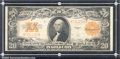 Large Size Gold Certificates:Large Size, 1922 $20 Gold Certificate, Fr-1187, Fine-VF. The color on the b...
