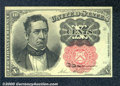 Fractional Currency: , 1874-1876 10c Fifth Issue, Meredith, Fr-1265, AU. The margins a...