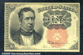 Fractional Currency: , 1874-1876 10c Fifth Issue, Meredith, Fr-1266, AU. The margins a...