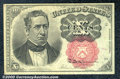 Fractional Currency: , 1874-1876 10c Fifth Issue, Meredith, Fr-1266, AU. A very choice...