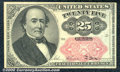 Fractional Currency: , 1874-1876 25c Fifth Issue, Walker, Fr-1309, Ch CU. The registra...