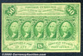 Fractional Currency: , 1862-1863 50c First Issue, Washington, Fr-1312, VF-XF. Well cen...