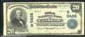 National Bank Notes:Kentucky, Trigg National Bank of Glasgow, KY, Charter #5486. 1902 $20 Thi...