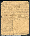 Colonial Notes:Delaware, March 1, 1758, 5s, Delaware, DE-49, Good. Very well worn with s...