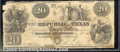 Miscellaneous:Republic of Texas Notes, $20, The Republic of Texas, Austin, TX, 5/28/1839, A6, Good. A...