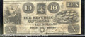 Miscellaneous:Republic of Texas Notes, $10, The Republic of Texas, Austin, TX, 1840, A5, VG-Fine. The ...